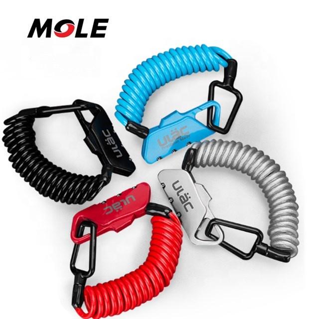 Free Shipping bike lock bicycle 55-Inch Portable Mini Lock Security bike helmet lock фото