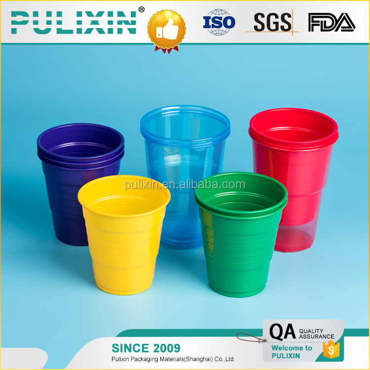 Disposable Plastic Cup PP PS PET PE Material From China