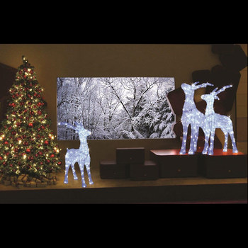 shopping mall decoration 3d animal motif christmas show window lighting