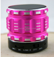 S28 Super Mini Bluetooth Portable Speaker Hands free Mic+TF Card Slot Stereo Metal Speakers for Laptop/PC/MP3/