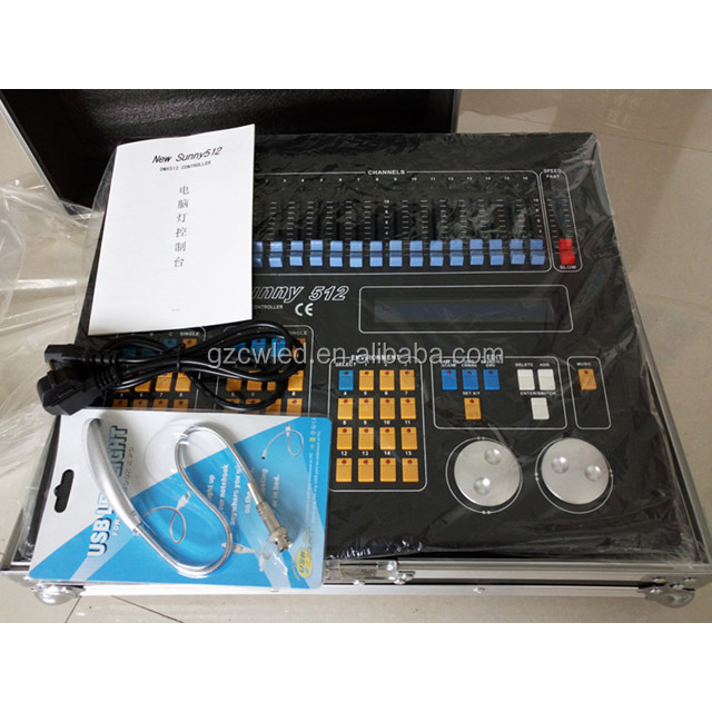 New Sunny dmx 512 Controller dmx 512 light controller/good quality stage light controller