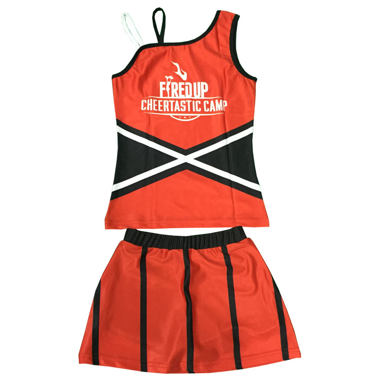 Cheer dance costumes custom long sleeve cheerleading uniforms