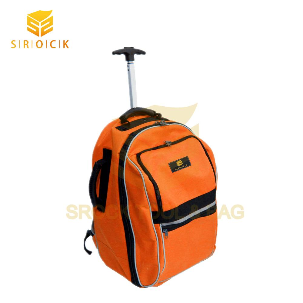 High capacity Rolling backpack