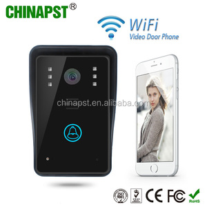 2018 Newest IR night vision photo and video taking IR night vision door intercom home wifi video door phone china PST-WIFI002A