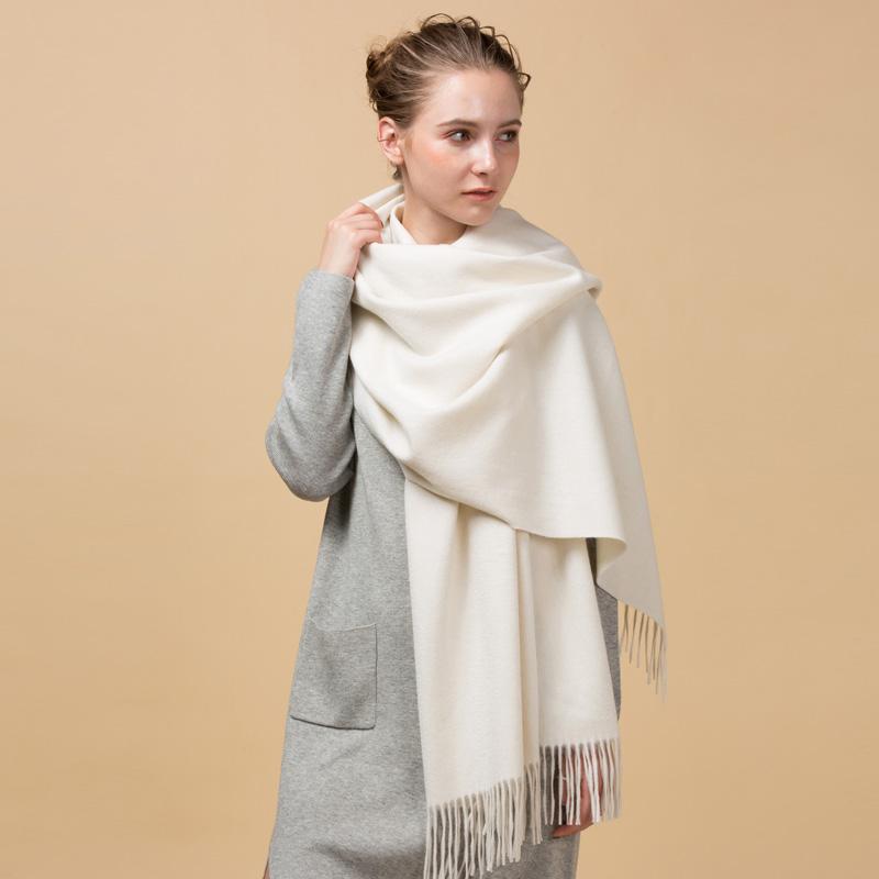 2019 ファッション女性カシミヤウールショールスカーフ