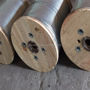 7*7 Hot dipped Galvanized steel wire rope in China