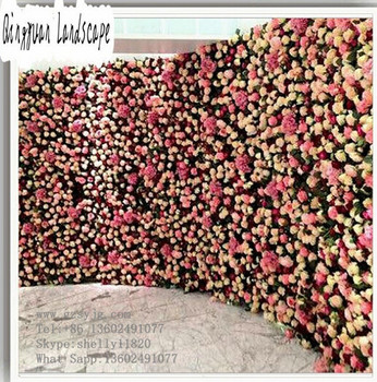 beautiful wall hanging artificial flowers,plastic fake flowers arch
