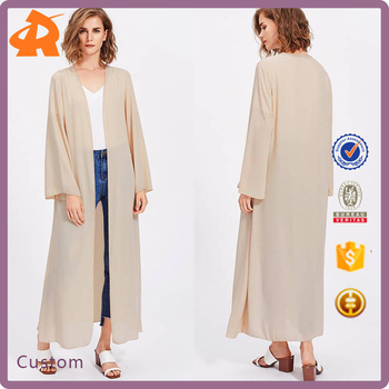 Custom Make Your Own Modern Abaya Egypt,Plain Beige Front Open Abaya In  China - Buy Abaya Egypt,Modern Abaya,Front Open Abaya Product on Alibaba com