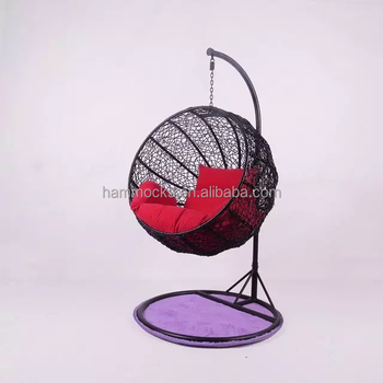 Hanging Chaise Lounger Chair Hammock C Stand Solid Steel Hammock Air Porch  Indoor Hanging Swing Egg