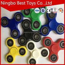 Latest cheapest hot sale ABS fidget light edc spinner toy