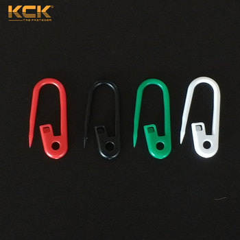 Colorful plastic safety pin Red safety pin