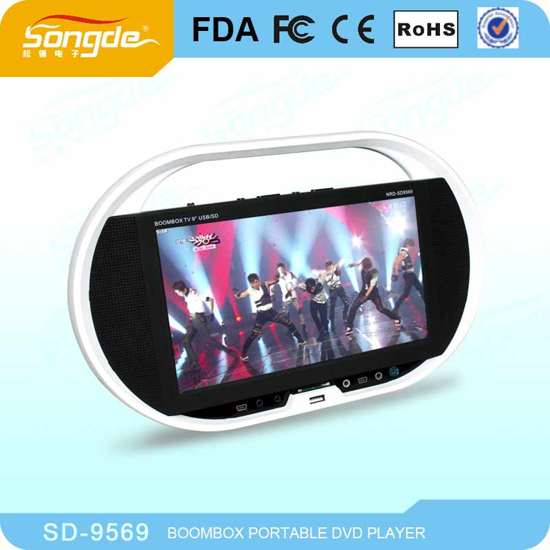 9.5'' Portable DVD with TV Tuner