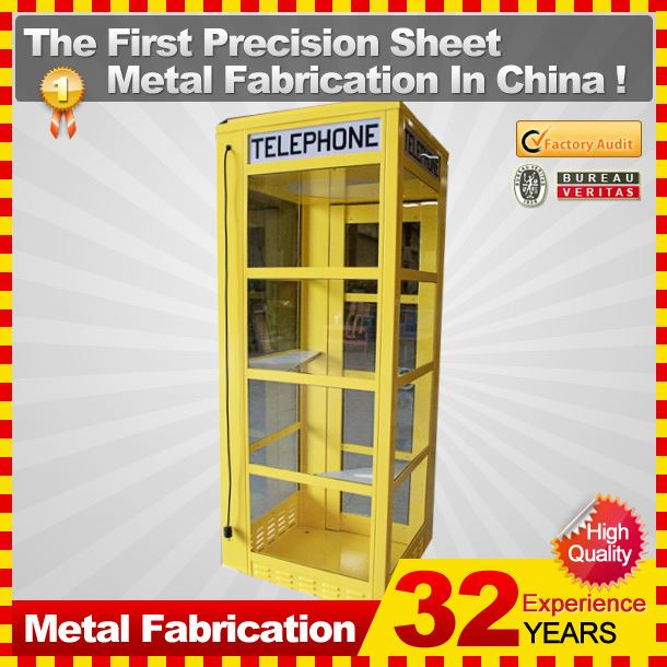 outdoor british style telephone booth with OEM service