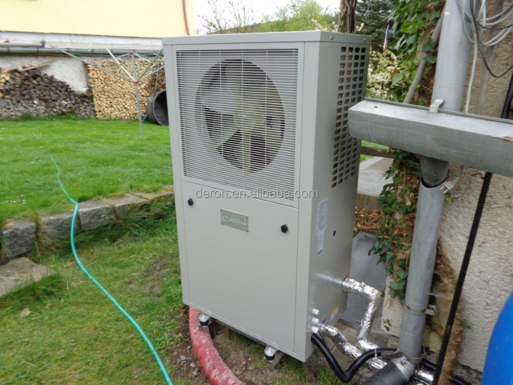 Tipo dc inverter de bomba de calor evi monoblock combinado - Calefaccion bomba de calor precio ...