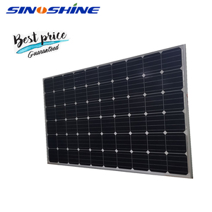 Slooping Roof Type use mono solar panel 290w with 25 Years Output Power Guarantee