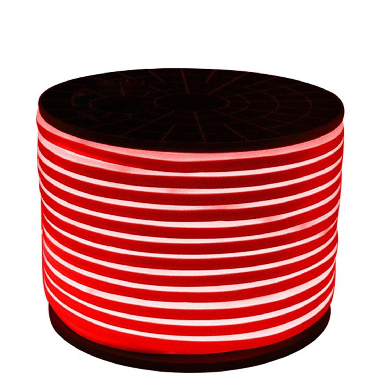 SRY-LED 2835SMD 600LED LED Neon Rope light 2 Wires LED Neon Flex White DIP Led neon Ribbon 220-240V/110-130V ( Color : Red )