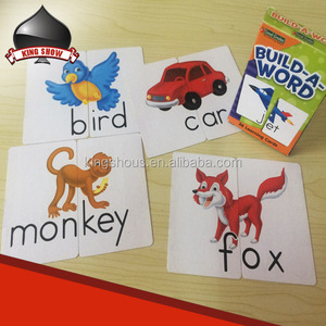 High quality custom memory card game for kids children