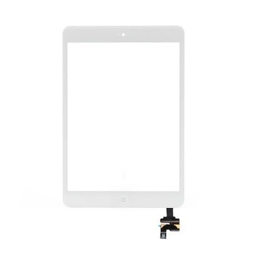 Apple iPad Mini White Touch Screen Glass Digitizer A1432 A1454 A1455 with IC Connector