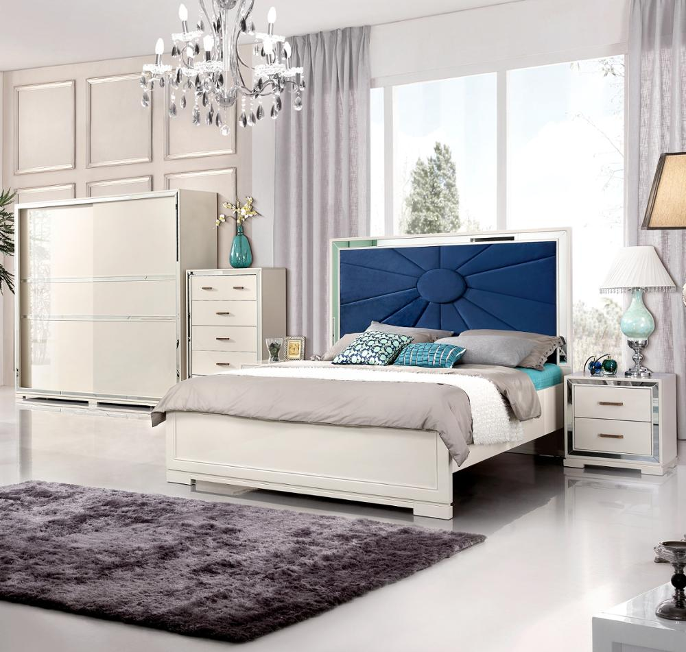 China Foshan Complete Bedroom Furniture Modern Home Made In