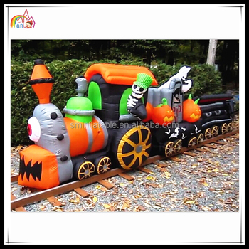 2016 New Inflatable Pumpkins Halloween Train Skull Decorations On Sale    Buy Pumpkins Decoration,Inflatable Halloween Skull,Halloween Item Product  On ...