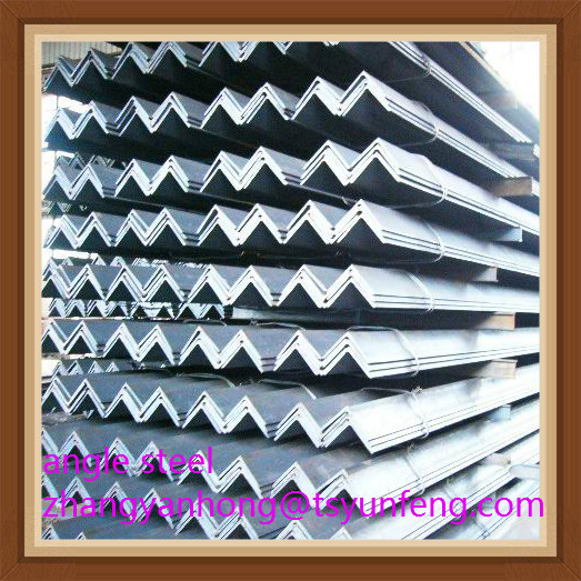 JIS EN GB ASTM BS DIN standard angle steel hot roalled structural material steel angle