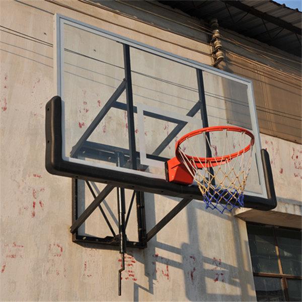 High Quality Wall Mounted Glass Backboard With Basketball Hoops ...