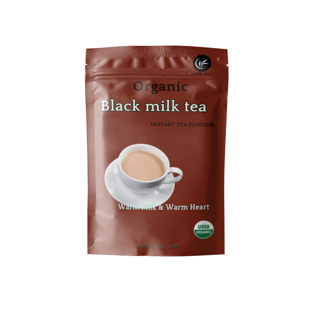 Lifeworth black milk tea flavor powder - 4uTea | 4uTea.com