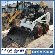 S130 Mini Wheel Loader USA Bobcat Mini Used Skid Steer Loader For Sale