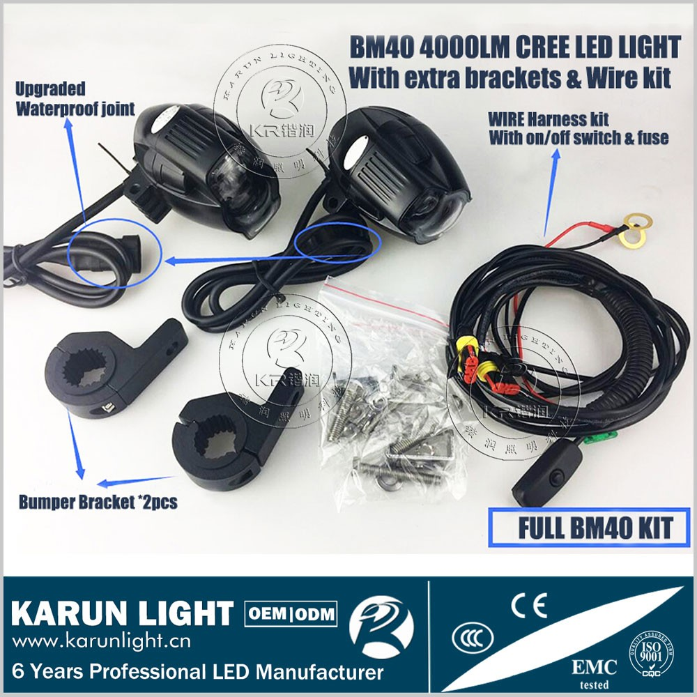 Motorcycle Light Switch Kit Wiring Harness