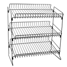 3 Tier Draad Aanrecht Rack Cookies Display Rack <span class=keywords><strong>Candy</strong></span> Bars Moer Bars Kauwgom Plank Display Rack