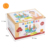 Montessori Geometry Match Game wood Building Blocks stacking Educational Toy for Kids Colorful Wooden Shapes Toys