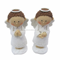 Wholesale Two Lovely Cupid Angel Figure Decoration For Wedding Gifts