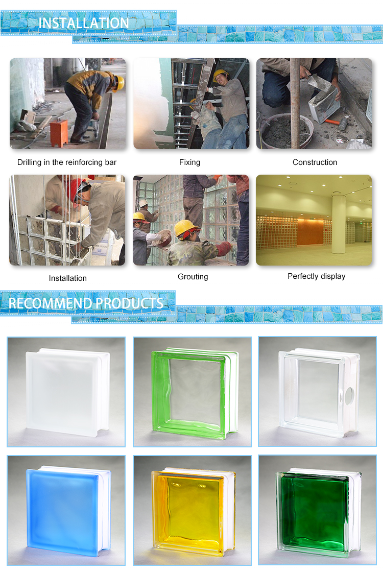 Glass Manufacturer 190x190x80mm cellular glass block