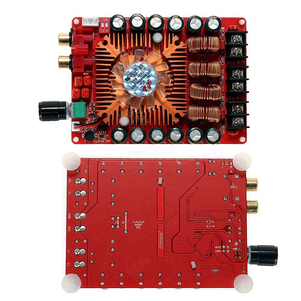 Aideepen TDA7498E 160W+160W Dual Channel Audio Stereo Power Amplifier Board