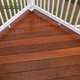 Non-slip Backyard Waterproof Outdoor IPE Timber Hardwood Decking Flooring