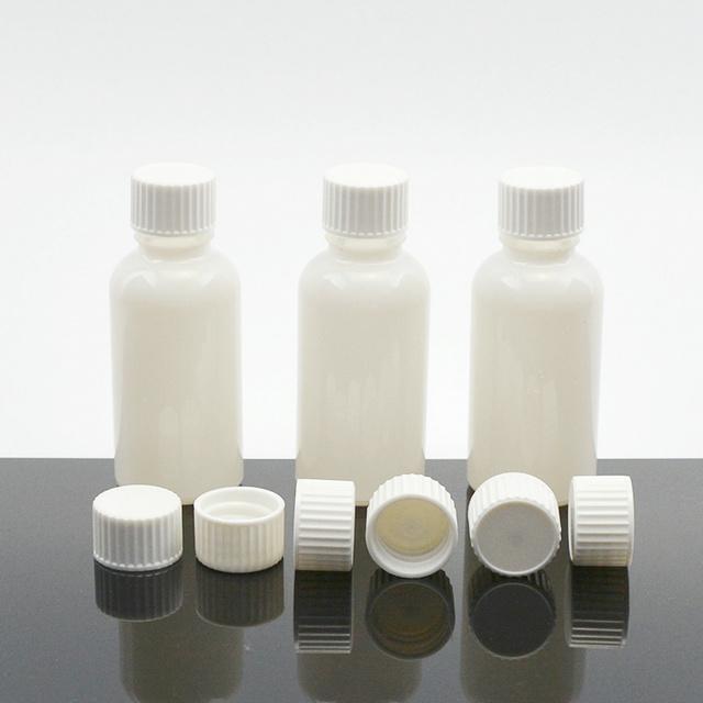Atacado Material De Vidro Transparente Frasco de Óleo Essencial de 15 ml com Tampa Conta-gotas CRC