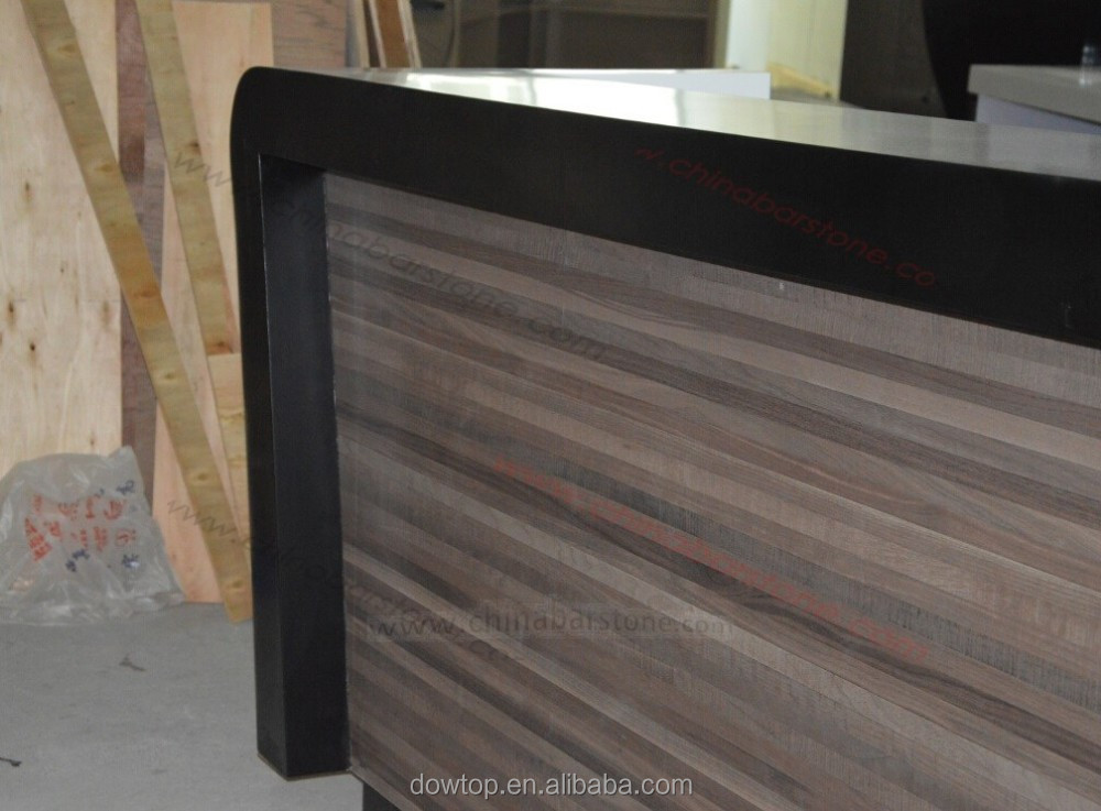 Customized Wooden Bar Counter Mdf Bar Table Design For Europe ...