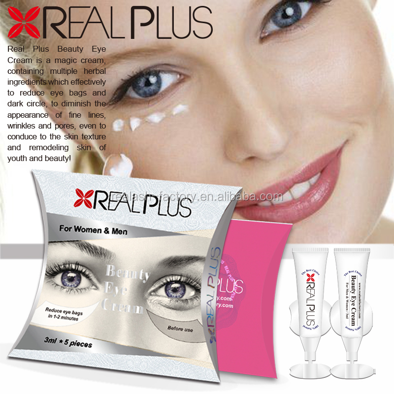 Small pack affordable makeup REAL PLUS best under eye bags treatments