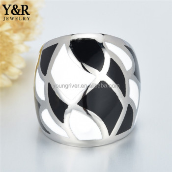 new design 316L stainless steel Vogue Jewelry Couple finger Rings