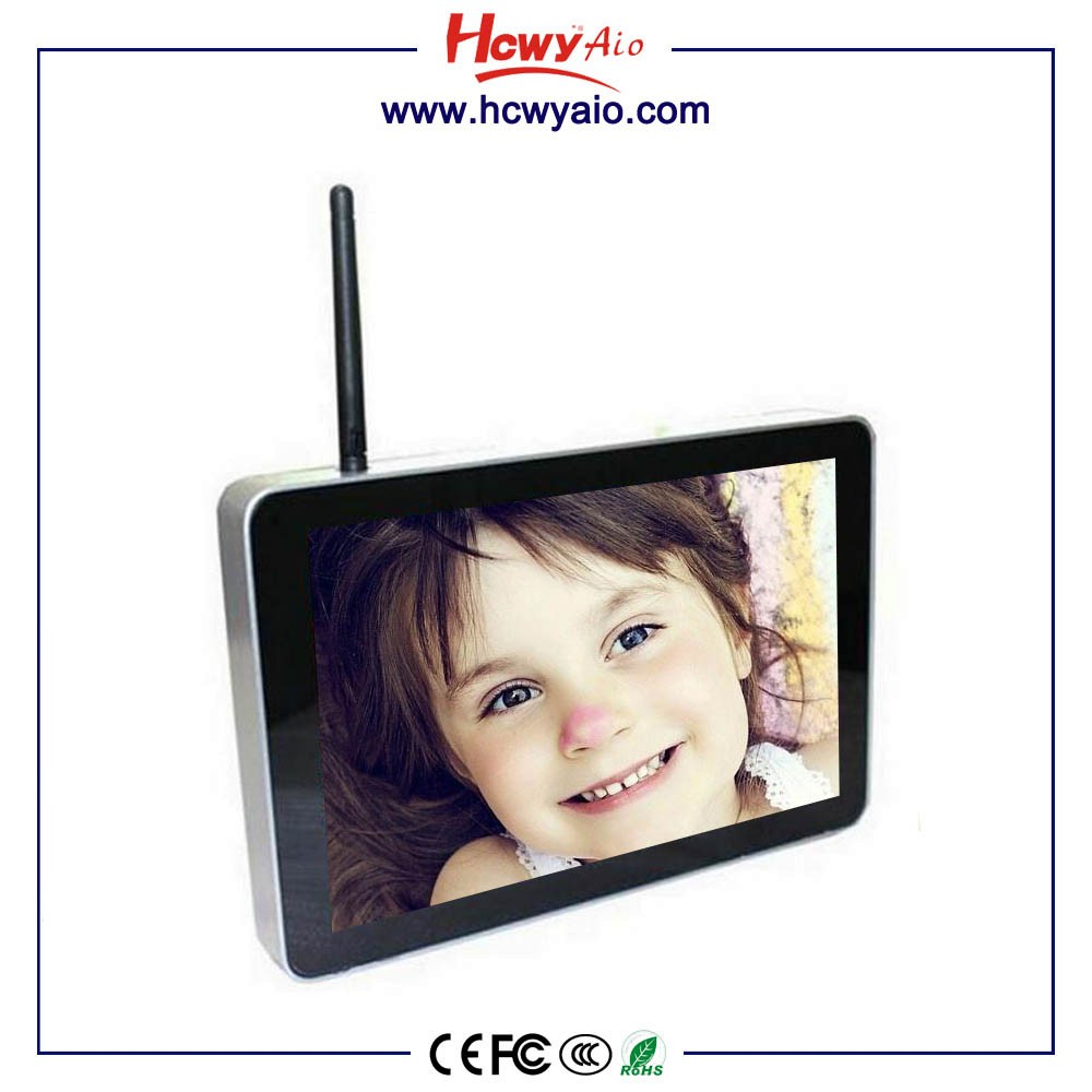 13''Advertising player 13 lcd 10 Points Capacitive Touch Advertising Player 10 inch Advertising Player Table Stand