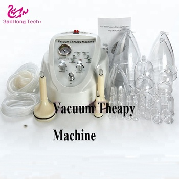 Free shipping vacuum therapy machine body health breast enhancer breast care massager