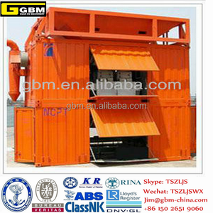 Harbor Hopper Containerized Mobile Weighing and Bagging Unit for Port Machine