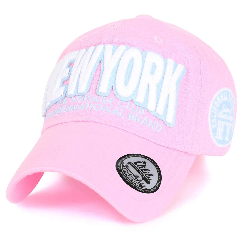 27387924191 Get Quotations · ililily Cotton   Newyork  Vintage Adjustable Curved Hat  Baseball Cap