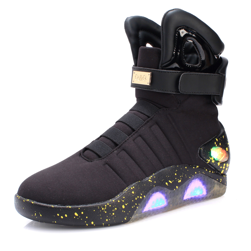Citi Trends Shoes For <strong>Men</strong> Suitable City Life Fashionable LED Shoes