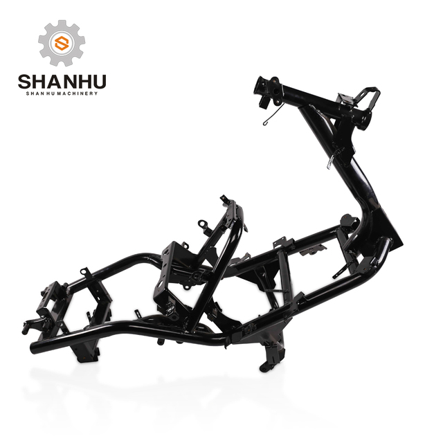 Factory directly wholesale cheap steel custom motorcycle scooter body main frame for BWS III