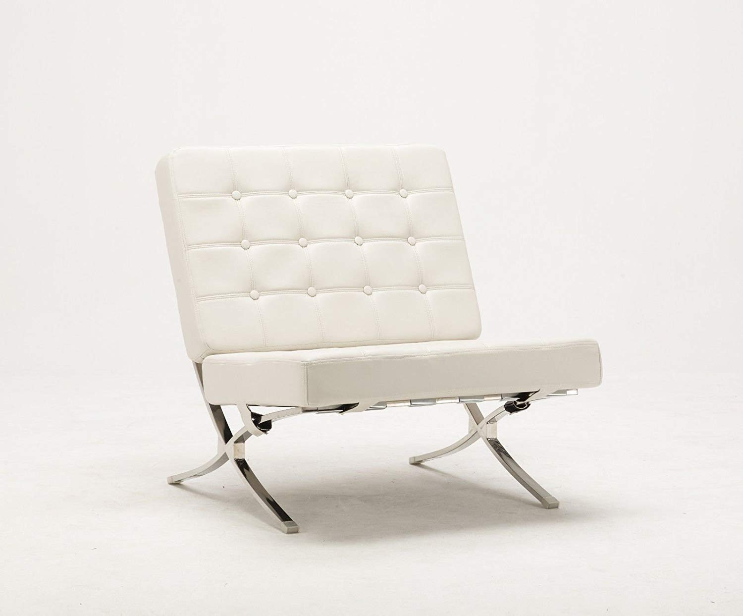 Fantastic Cheap White Leather Chair And Ottoman Find White Leather Machost Co Dining Chair Design Ideas Machostcouk