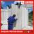 Fast construction prefab styrofoam sandwich wall panels house, GI STEEL + DQ Panel