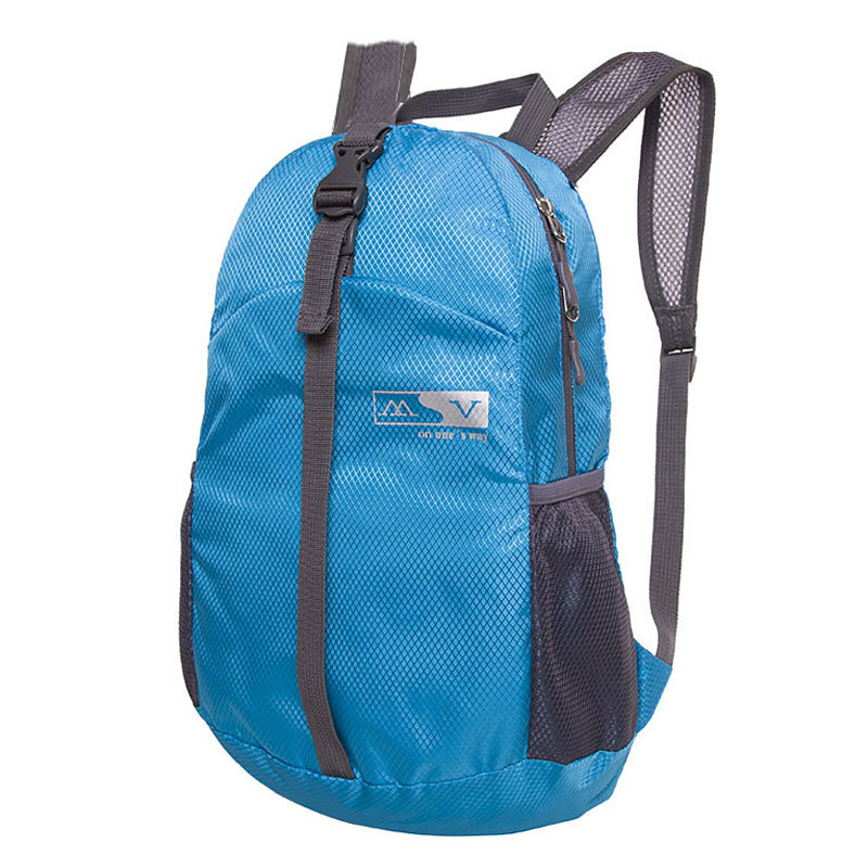 Waterproof Nylon Travel Bags Backpack Women Men Sport 2015 Candy Color Black Blue Mochila Backpacks Foldable Bag Outdoor