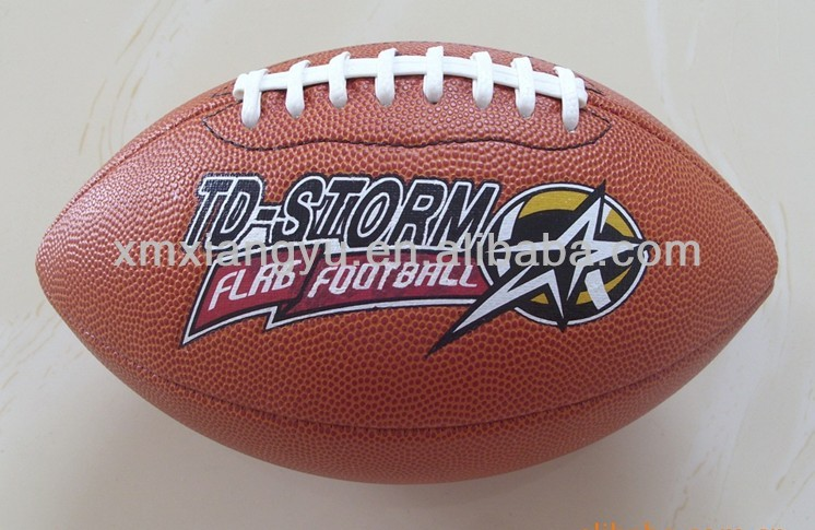 Professional custom printed Rugby Ball/American football