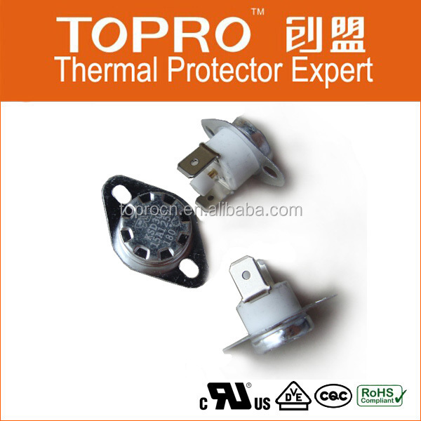Gas Boiler Snap Action Thermostat Ksd301Temperature Switch From Dongguan Manufacturer